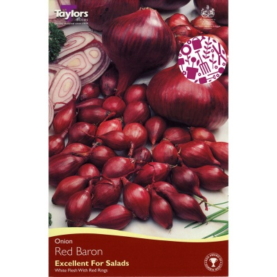 Taylors Red Baron Onion Sets Pack of 50
