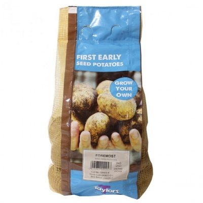 Taylors Bulbs Foremost Seed Potatoes 2kg Net