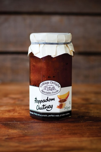Cottage Delight Poppadom Chutney 340g