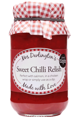 Mrs Darlington's Sweet Sweet Chilli Relish 330g