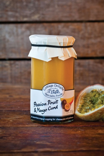 Cottage Delight Passion Fruit and Mango Curd 315g