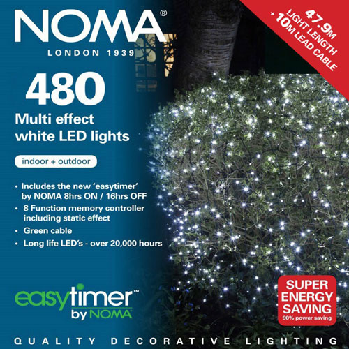 Noma Led Shop Light Review: Noma® 480 White Multi Effect LED Lights