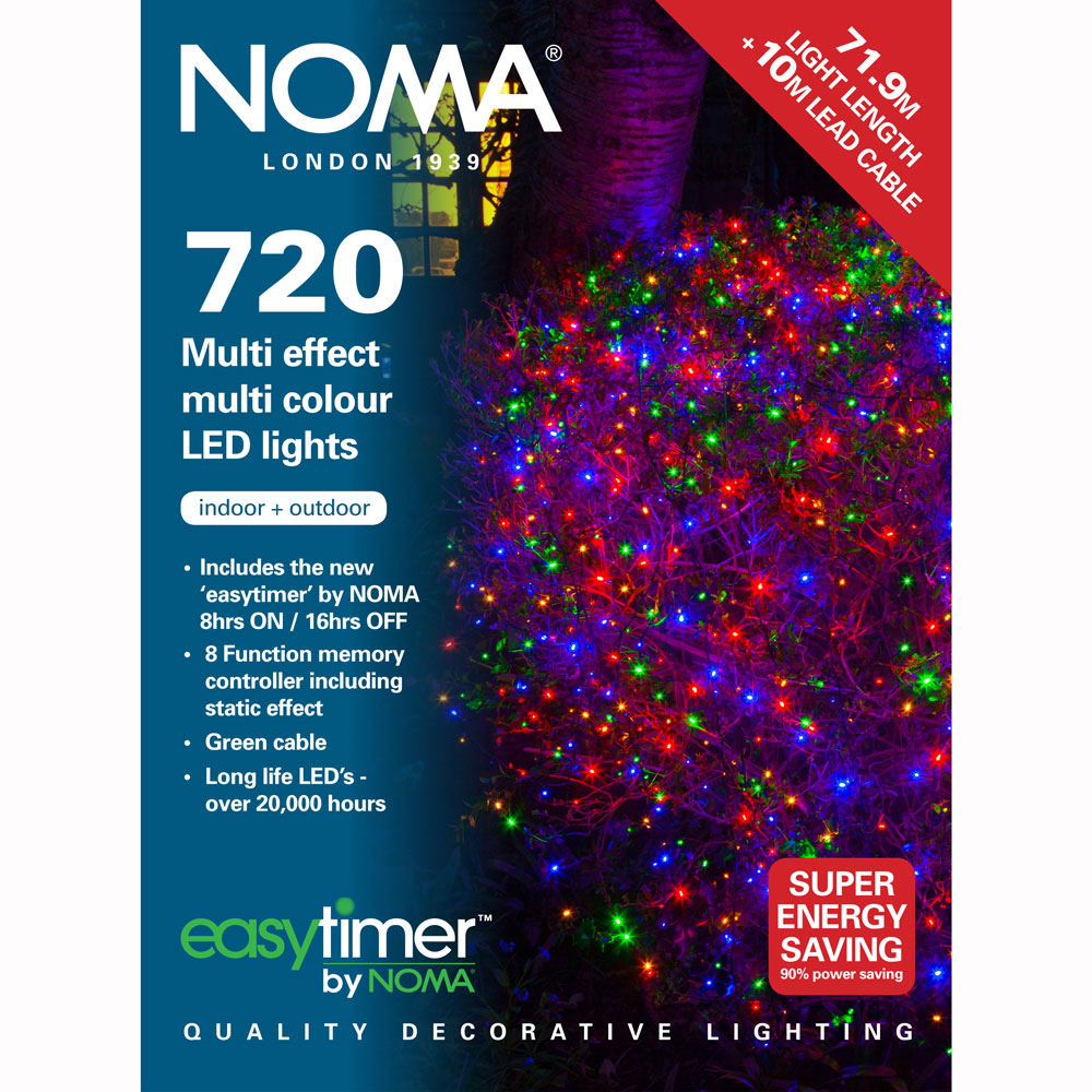 Noma Led Shop Light Review: Noma® 720 Multi Colour Multi Effect LED Lights