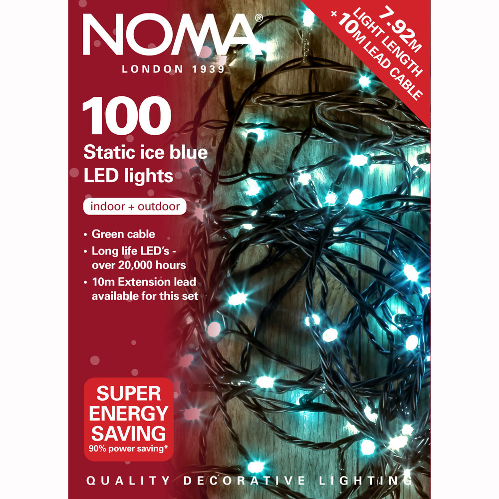Noma Led Shop Light Review: Noma® 100 Ice Blue LED Static Decorative Lights