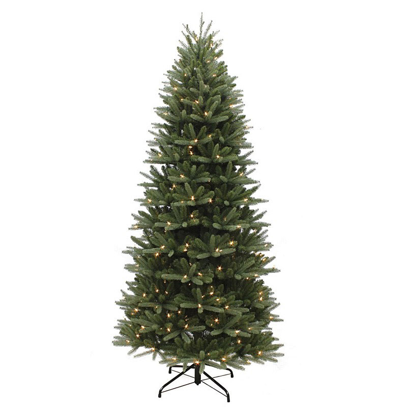 Slim Washington Valley Spruce Pre Lit 7 5ft Artificial
