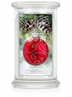 Kringle Candle Large 2-Wick Classic Jar 'Christmas' 22oz