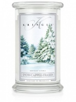 Kringle Candle Large 2-Wick Classic Jar 'Snow-Capped Fraser' 22oz