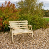Zest 4 Leisure Abbey 2 Seater Bench