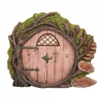 Miniature World® Pink Burrow Fairy Door (MW06-001)