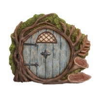 Miniature World® Blue Burrow Fairy Door (MW06-002)