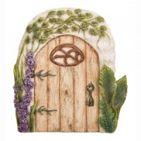 Miniature World® Washed Oak Fairy Door (MW06-005)