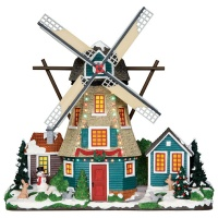 Lemax Windmill - Lighted Facade (25333)