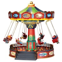 Lemax The Giant Swing Ride - Sights & Sounds Table Piece (44765)