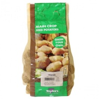Taylors Bulbs Desiree Seed Potatoes 2kg Carry Net