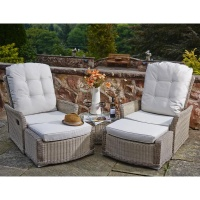 Supremo Alonzo Dual Reclining Lounge Set