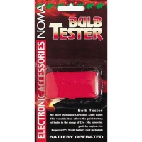 Noma® Bulb Tester - Battery Operated (1001)