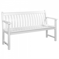 Alexander Rose Broadfield 5ft New England White Bench