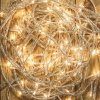 Noma® 240 White Multi Effect LED Lights - Clear Cable (8724CW)