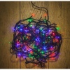 Noma® 100 Multi Colour LED Static Decorative Lights - Green Cable (8713GM)