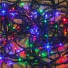 Noma® 240 Multi Colour Multi Effect LED Lights - Green Cable (8724GM)