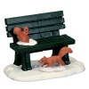 Lemax Park Bench In Winter - Accessory (54938)