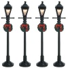 Lemax Gas Lantern Street Lamp - Accessory Set of 4 (64498)