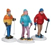 Lemax Snowshoe Walkers Figurine - Set of 3 (22033)