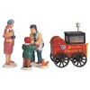 Lemax Roasted Chestnut Stand Figurines - Set of 4 (92331)