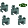 Peacock Twister 7mm Couplers Multi Pack of 4