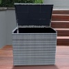 Katie Blake Sandringham Waterproof Cushion Box Dove Grey