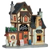 Lemax Brick Oven Cafe - Lighted Building (65096)