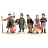 Lemax Village People - Figurines - Set of 6 (92356)