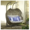 Bramblecrest Oakridge Double Cocoon Chair Incl. Cushions
