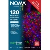 Noma® 120 Multi Colour Multi Effect LED Lights - Clear Cable (8712CM)