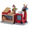 Lemax Kettle Corn Stand Set of 2 - Figurine (92746)
