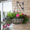 Gardman Decorative Hanging Basket Liner Leaves 14''/35cm