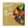 Noma® 40 Canterbury Belles Christmas Lights Multicolour/Green Cable (4405)