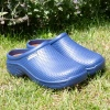 Town And Country Cloggies Navy Size 8