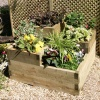 Zest 4 Leisure 3 Tiered Raised Bed