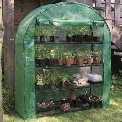 Gardman 4 Tier Extra Wide Grow-Arc with Reinforced Cover