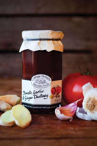 Cottage Delight Tomato Garlic and Ginger Chutney 310g