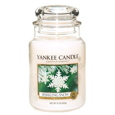Yankee Candle ® Classic Large Jar 22oz - Sparkling Snow