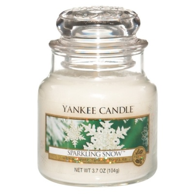 Yankee Candle ® Classic Small Jar 3.7oz - Sparkling Snow