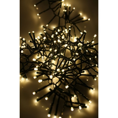 Noma® Multi-Effect Cluster Lights 720 Warm White LEDs / Green Cable (2515017GWW)