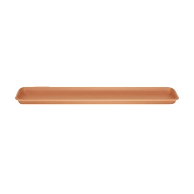 Stewart Terrace Trough Tray 80cm - Terracotta