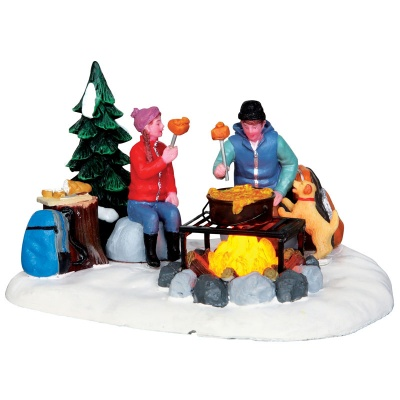 Lemax Campfire Fondue - Table Accent (34625)