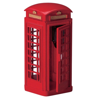 Lemax Telephone Booth - Accessory (44176)