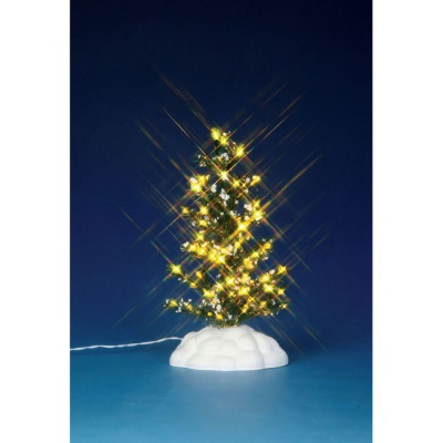 Lemax Clear Lighted Pine Tree (Medium) - Accessory (44786)