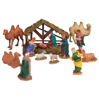 Lemax Nativity Table Accent - Set of 14 (33410)