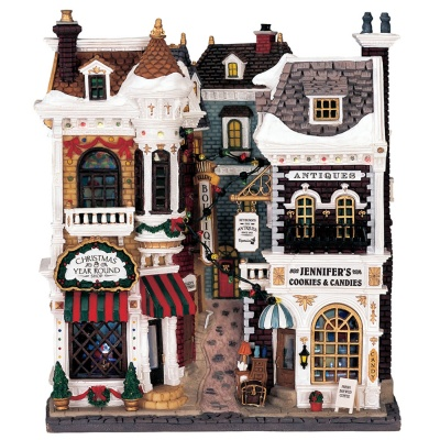 Lemax Village Shops - Lighted Facade (45094)